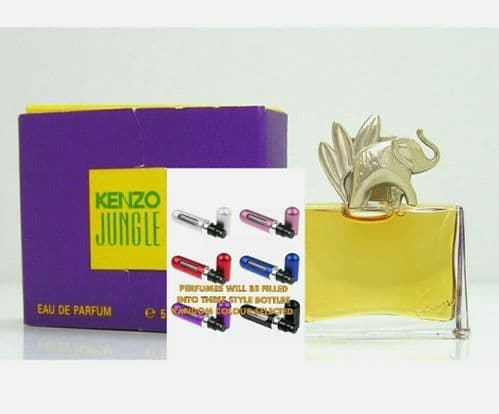 Kenzo Jungle Elephant Eau De Parfum *EDP travel sample atomiser 5ml